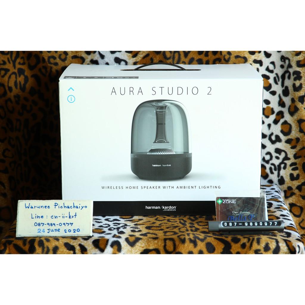 🔥🔥🔥 Bluetooth Speaker Harman Kardon AURA Studio 2 ของใหม่มือ 1 แท้ 100% ประกันมหาจักร 1 ปี 🔥🔥🔥