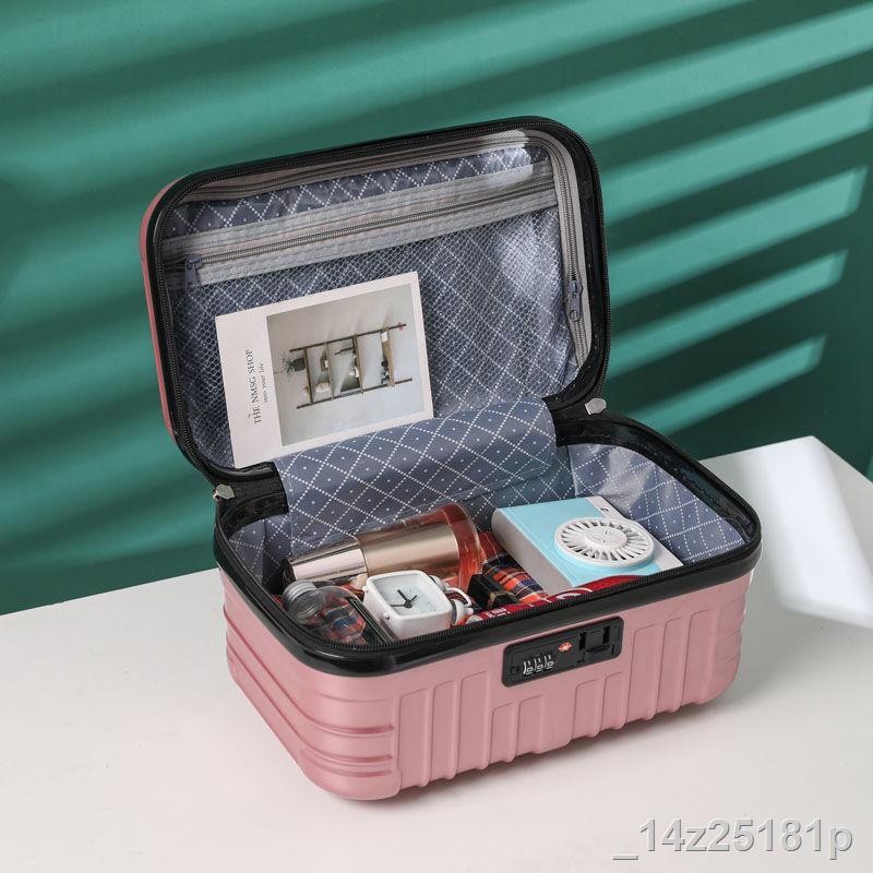 ราคาขายส่ง✳❉กระเป๋าเดินทางกระเป๋าเดินทางใบเล็กกระเป๋าใส่เครื่องสำอางน่ารักขนาดเล็ก 14 นิ้วน้ำหนักเบา 16 นิ้ว กระเป๋าเดิ