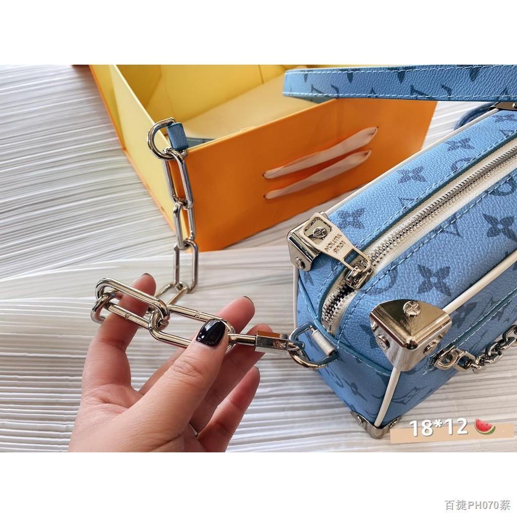 เวลาจำกัด✟♣☢【Quick Shipping】lv กระเป๋ากระเป๋าเดินทางใบเล็กรุ่นใหม่ล่าสุดปี 2021 กระเป๋าสะพายข้างผู้หญิง
