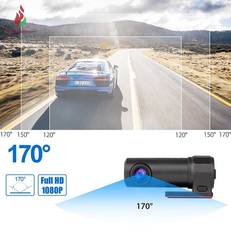 ราคาดีที่สุด SK❤ 1080P Car Camera WIFI DVR Dash Cam