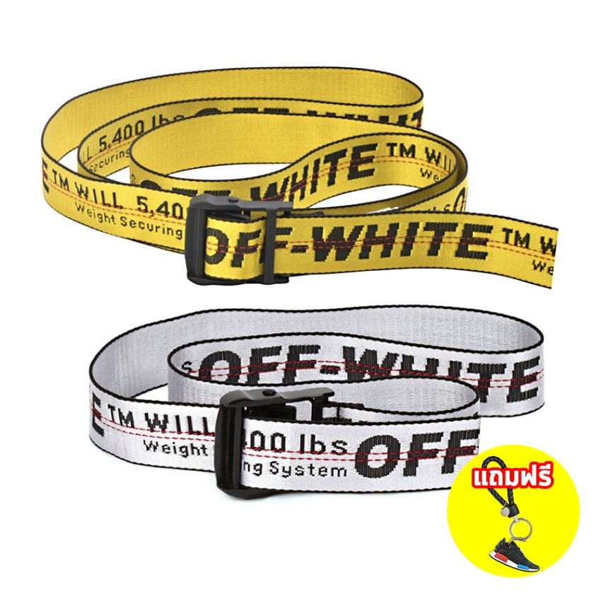 2019 New Off White Belt White Grey 200CM