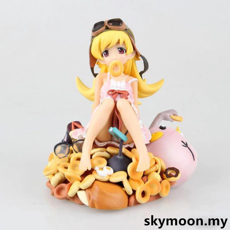 ฟิกเกอร์ monogatari Oshino Shinobu 1 / 8 Scale Painted Action Figure