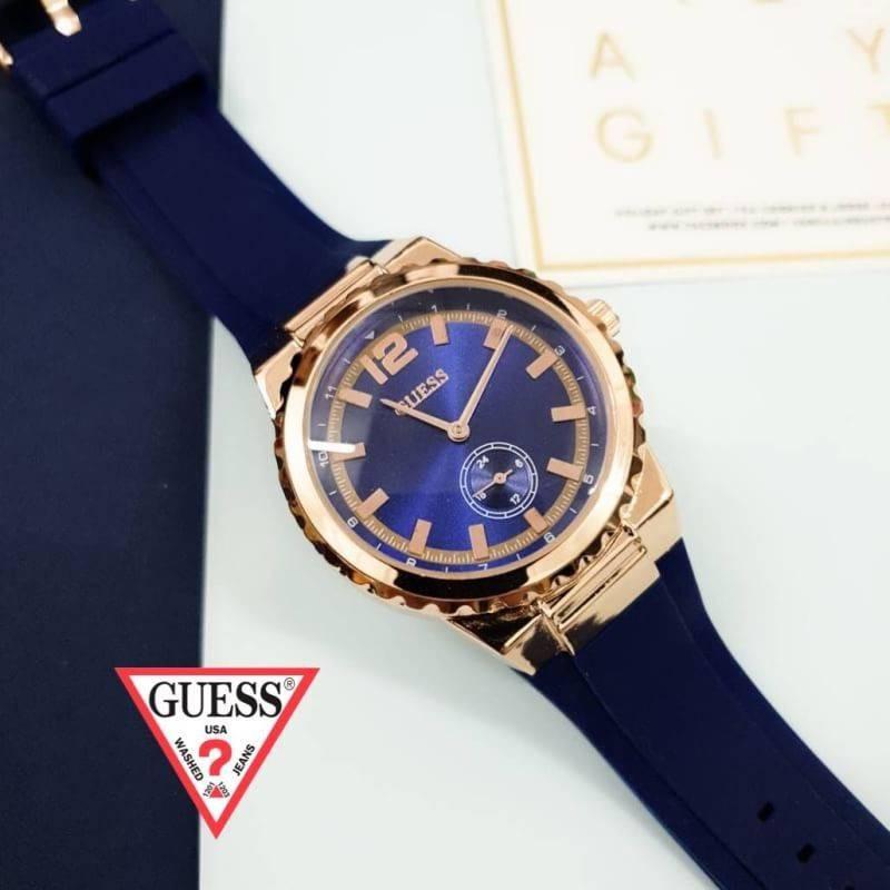 นาฬิกา Guess - Guess Watch นาฬิกาข้อมือผู้หญิง สีโรสโกลด์ นาฬิกาแฟชั่น GUESS by W12Shop มีชำระเงินปลายทาง