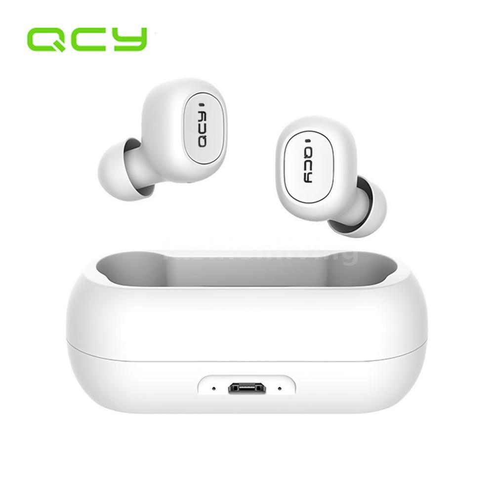 Review Xiaomi QCY T1C Youth Version Mini Dual V5.0 Wireless Earphones BT Earphones 3D Stereo Sound Earbuds