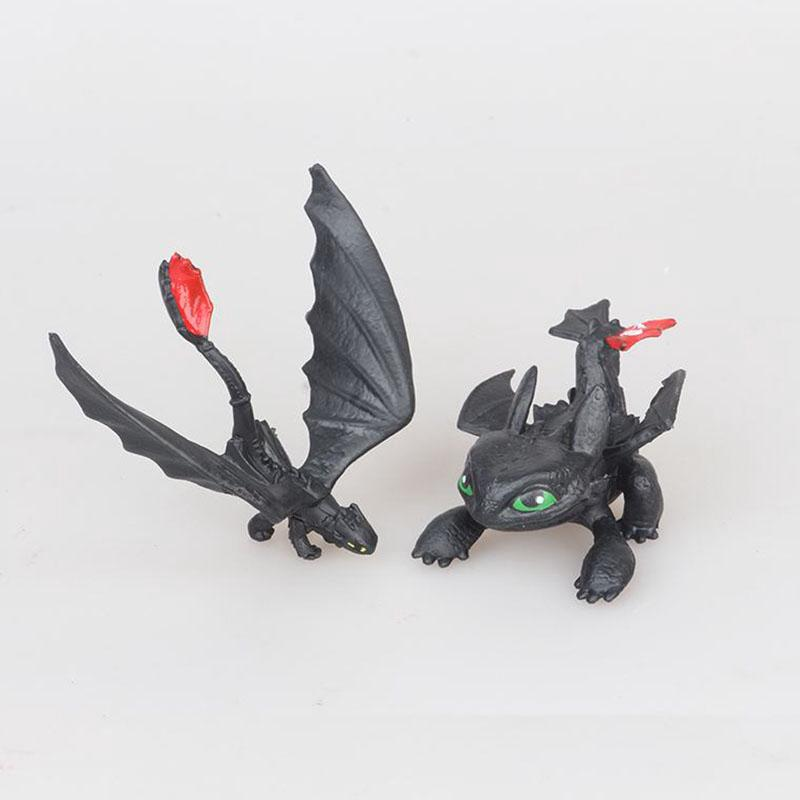 Image # 4 of Review ฟิกเกอร์ How To Train Your Dragon 3 Toothless Fury 13 ชิ้น
