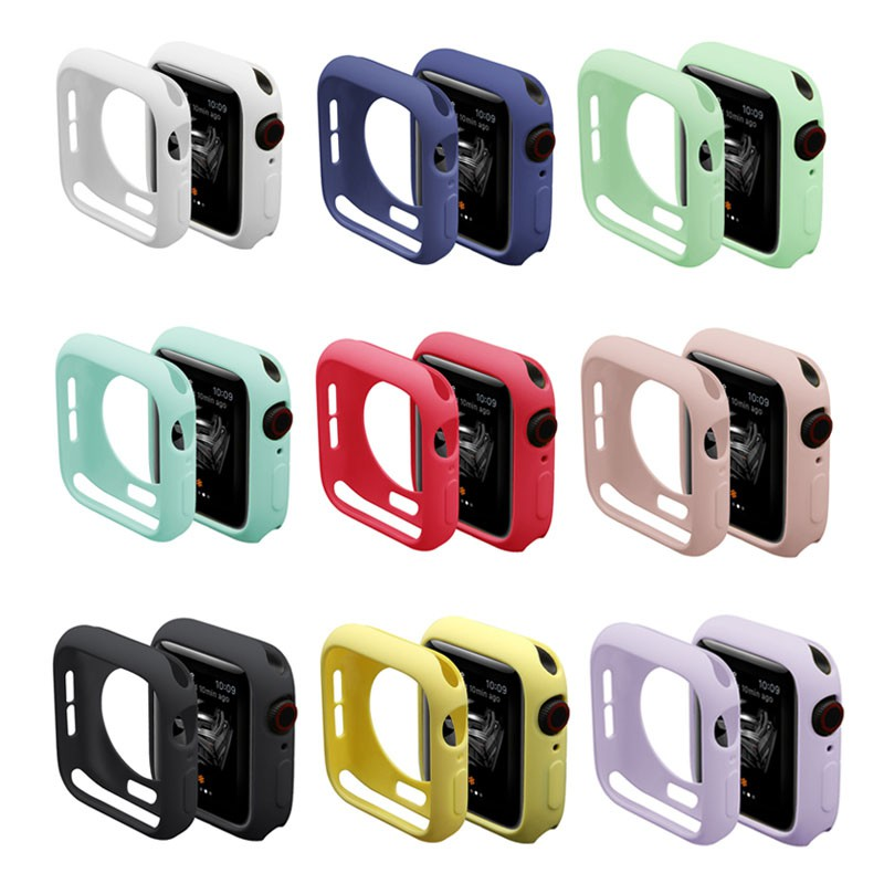 Apple Watch Band Series 5 4 3 2 1 Candy case for Iwatch Band protector 42mm 38mm 40mm 44mm