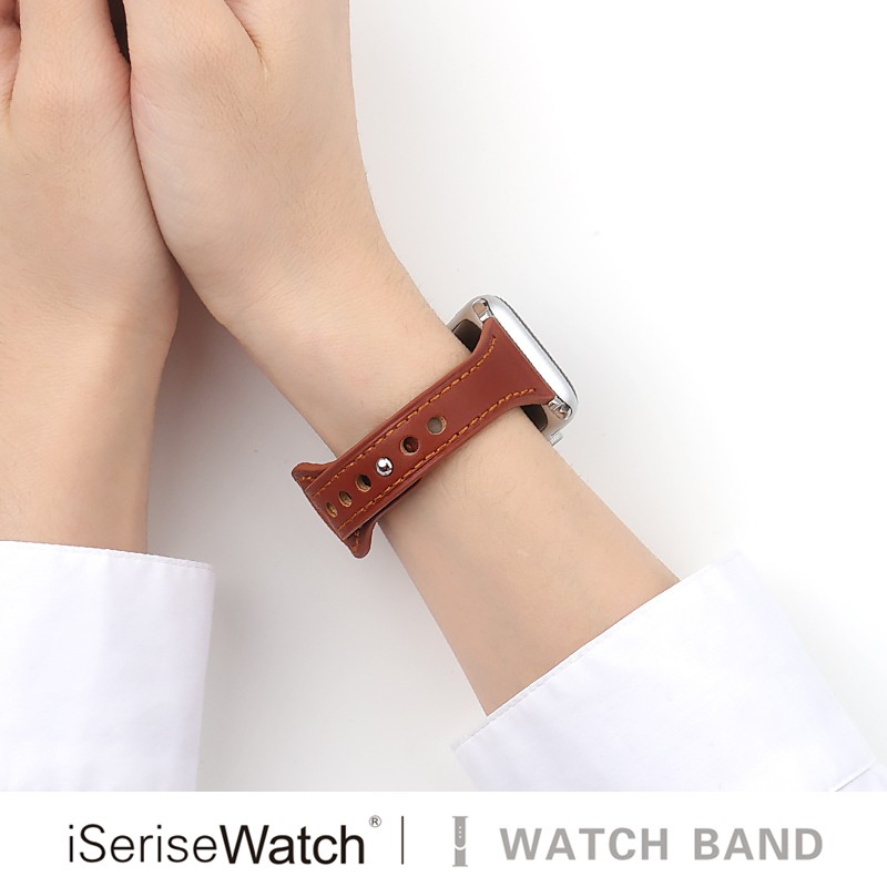 สายนาฬิกาสําหรับ Apple Iwatch Series 6/5/4/3/2/1 Applewatch 38/40/42/44 มม. 38 มม. 45iwatch 412/34 มม.