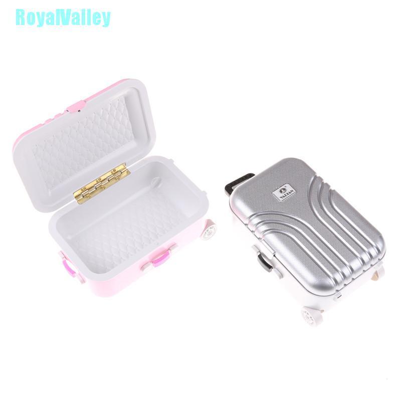 Royalvalley กระเป๋าเดินทางสําหรับตุ๊กตาอเมริกันขนาด 18 นิ้ว (only Suitcase) BDS