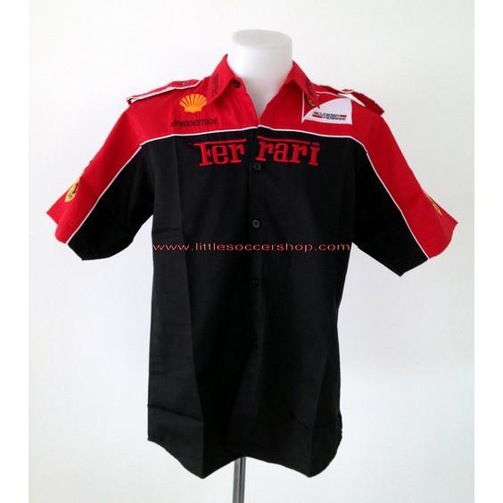 เสื้อเชิ้ตทีมรถแข่งเฟอร์รารี่ (Ferrari)