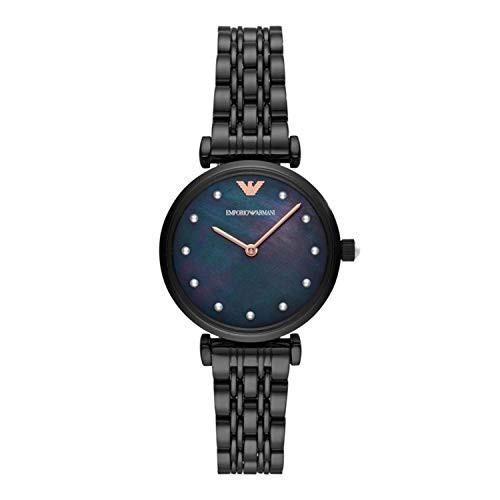Emporio Armani Analog Black Dial Women's Watch-AR11268