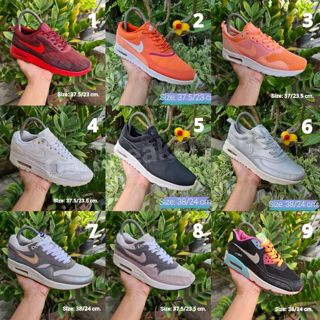 รองเท้ามือสองของแท้/AirEp.1/Airmax90/Airmaxone/รองเท้าลำลอง/รองเท้าวิ่ง/แอร์แม๊ก/