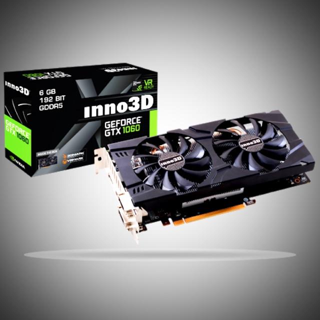 การ์ดจอ NVIDIA-INNO3D GTX 1060 TWIN X2 6G DDR5