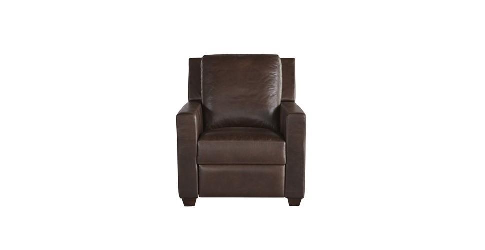SB Furniture เก้าอี้พักผ่อนหนังแท้ทั้งตัว เก้าอี้พักผ่อนปรับระดับไฟฟ้า 1 ที่นั่ง 790554P-790 ขนาด 88x103x100 ซม. -