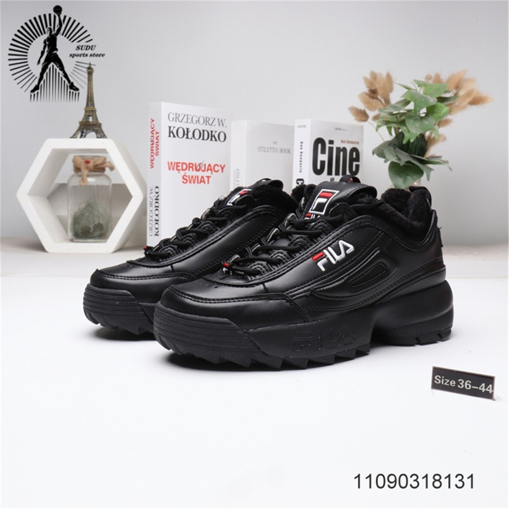 ของแท้จาก FILA รองเท้าผู้หญิงแฟชั่นรองเท้าผ้าใบรองเท้าวิ่งรองเท้าผู้ชาย149