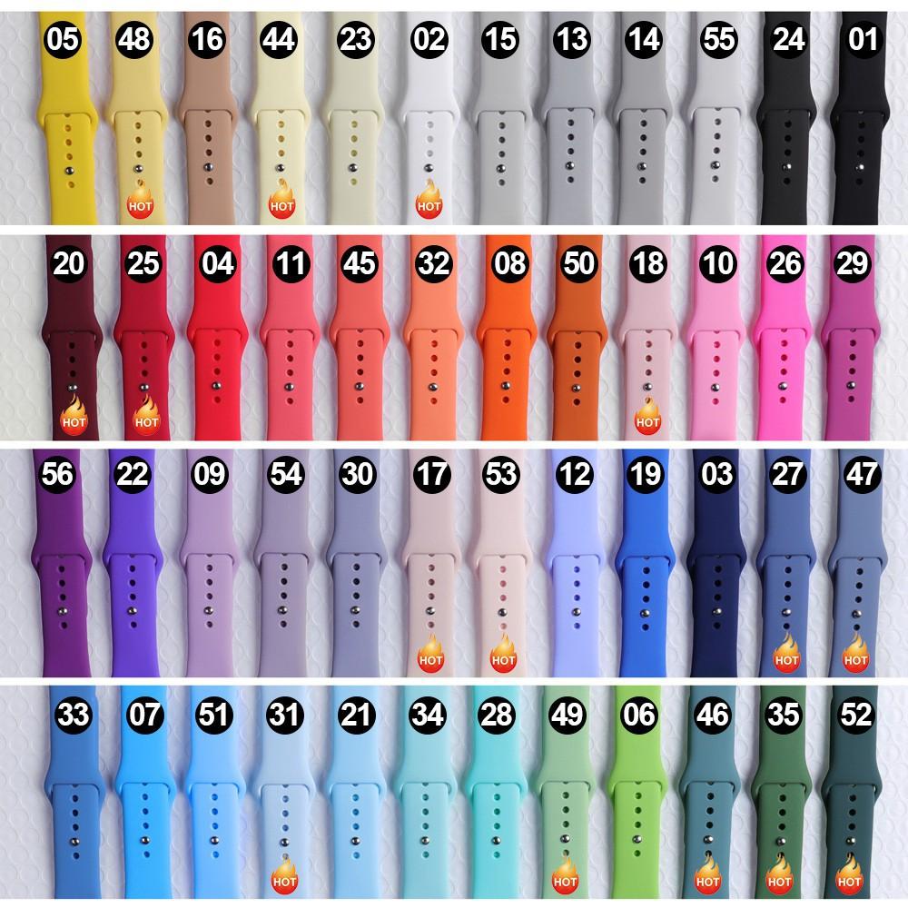 จุดนาฬิกาเครื่องประดับ^-^✻▨♦พร้อมส่ง‼️ สายสำหรับ Apple Watch สีมาใหม่ series 6 5 4 3 2 applewatch se, ขนาด 42mm 44mm 38