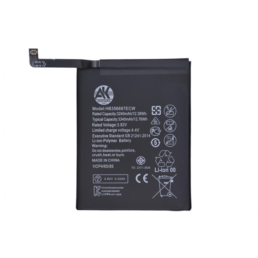 แบตเตอรี่หัวเหว่ย HB356687ECW AK4263 Battery HuaWei Nova 2i/Nova 3i แบต 3240mAh HuaWei 3340mAh แบตเตอรี่HuaWei หัวเหว่ย