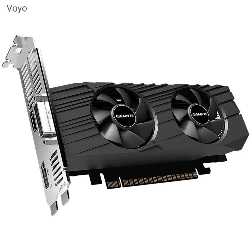 Gigabyte Gv - N1650Oc - 4Gl กราฟิกการ์ด Geforce Gtx 1650 Oc Low Profile Gddr5 พร้อมพัดลมคู่
