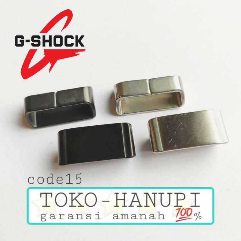 Casio G-shock Series 22mm สายคล้องนาฬิกาแบบสแตนเลส