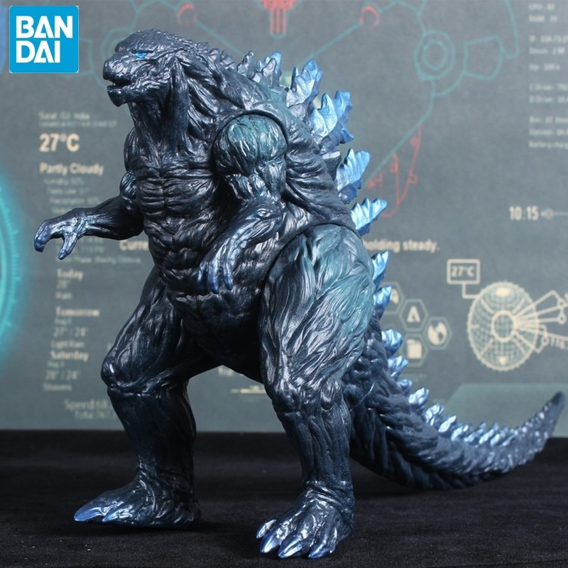 BANDAI Gojira Godzilla   Movie Version Garage Kit Large  Dinosaur Monster Movable 16cm PVC Action Figure Collectible Mod