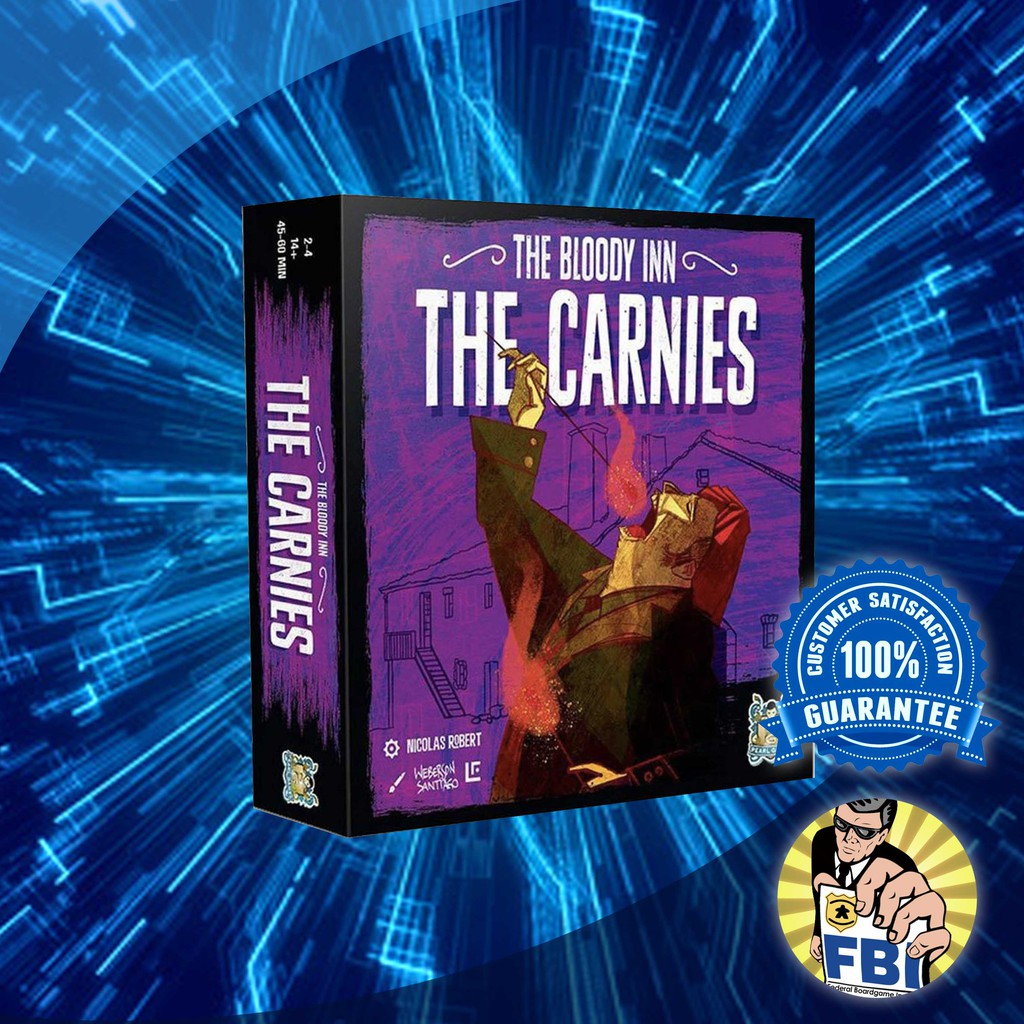 The Carnies Expansion The Bloody Inn Card Game