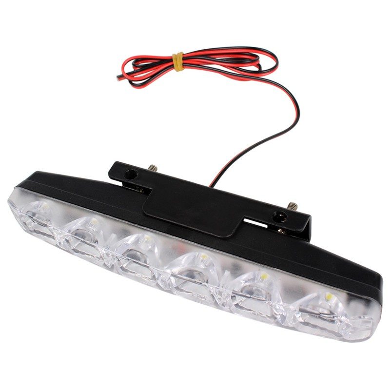 Kit 6 Drl Day Daytime Lamp Fog Driving