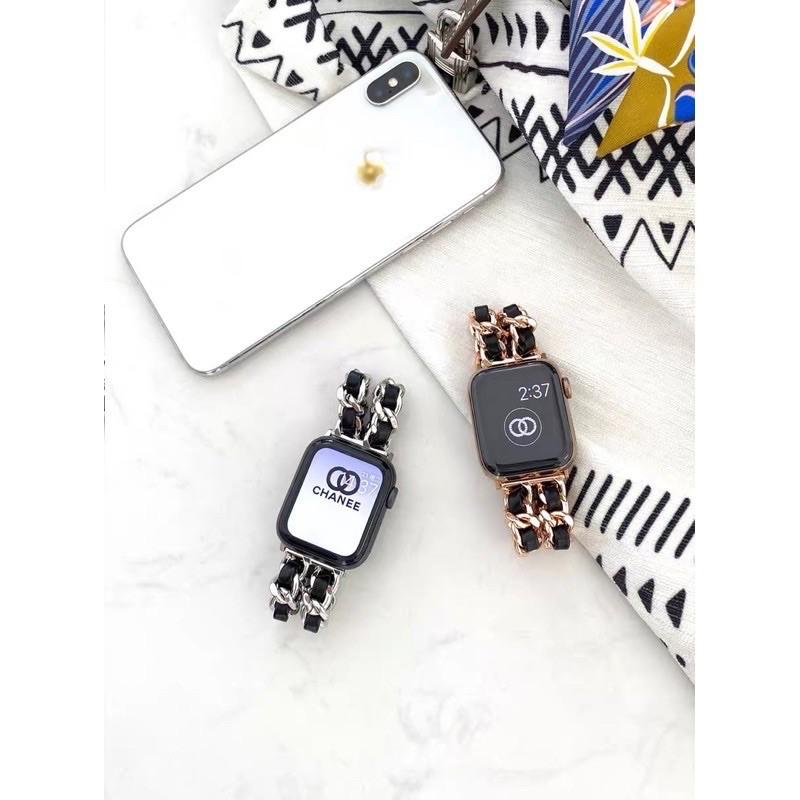 สายนาฬิกาข้อมือสแตนเลส สําหรับ applewatch 6 SE 5 4 3 2 1 band 38 /40มม. 42 /44มม. สําหรับiwatch series 5 4/1 qika