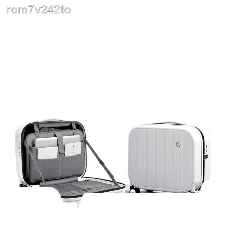 ♀⊙✆กระเป๋าเดินทางมินิมินิหญิงขนาด 16 นิ้วน้ำหนักเบาและเงียบล้อขนาดเล็ก 18 นิ้วกระเป๋าเดินทางกระเป๋าเดินทาง