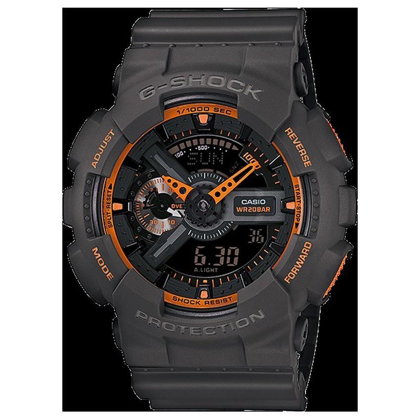 Casio G-Shock นาฬิกาข้อมือ รุ่น GA-110TS-1A4DR - Black