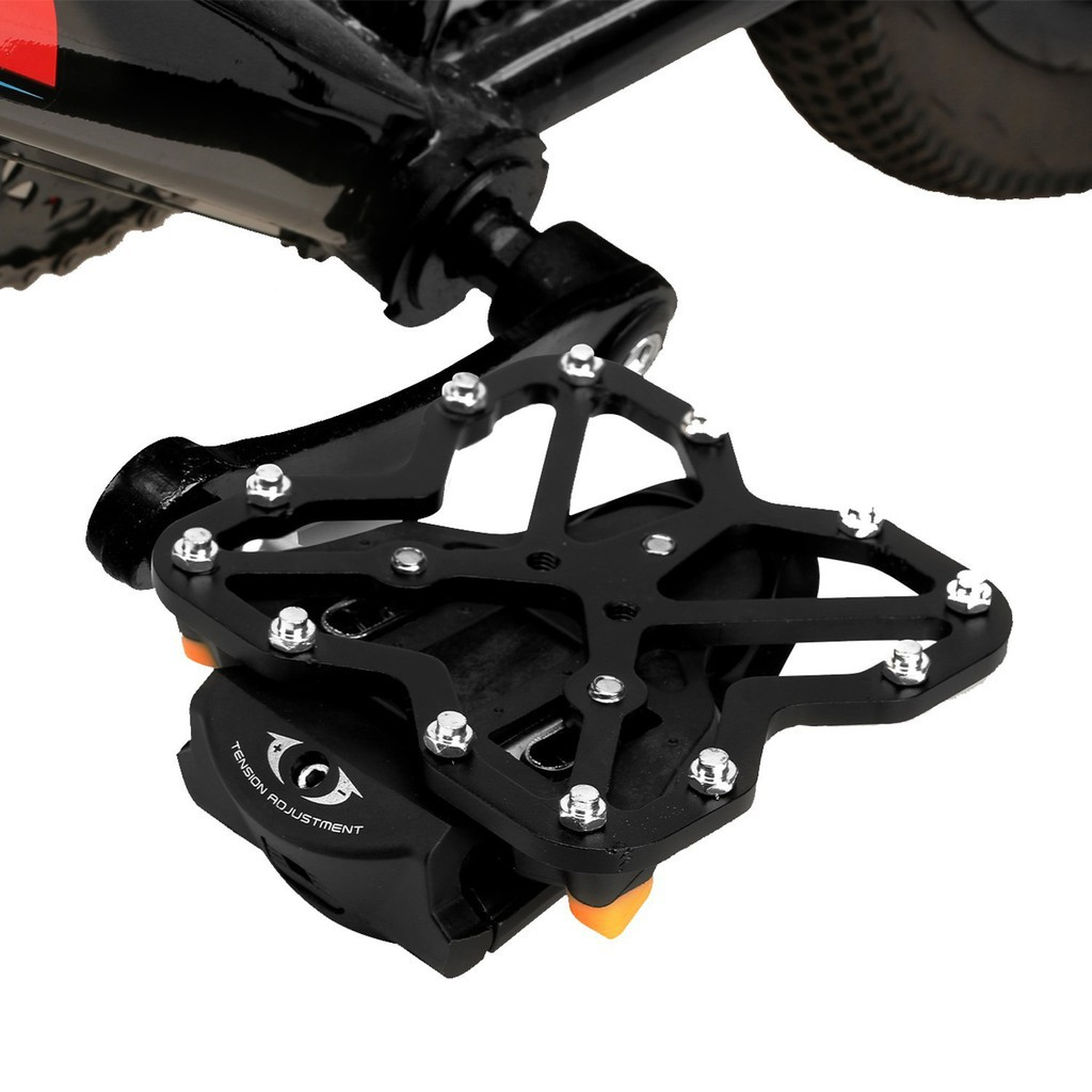 Bike Clipless Pedal Platform Adapter For SHIMANO SPD Speedplay Look KEO Black