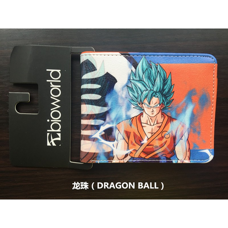 DragonBall Z Son Goku ดราก้อนบอลเต่า Symbol Turtle Symbol Cartoon Wallet Wallet