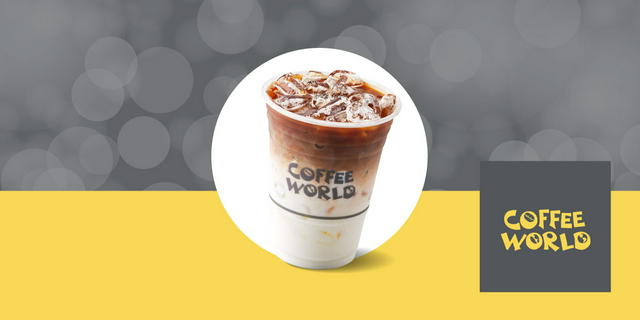 Coffee World [Scan & Pay] ส่วนลด ฿25