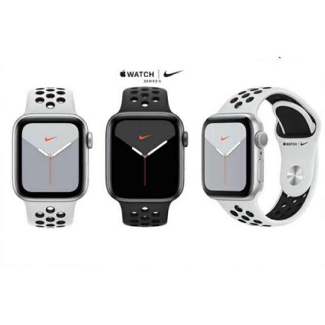 "APPLE WATCH NIKE SERIES 5 GPS+CELLULAR 40MM ALUMINIUM CASE WITH NIKE SPORT BAND""ผ่อน 0%10 เดือน"" เครื่องศูนย์แท้"