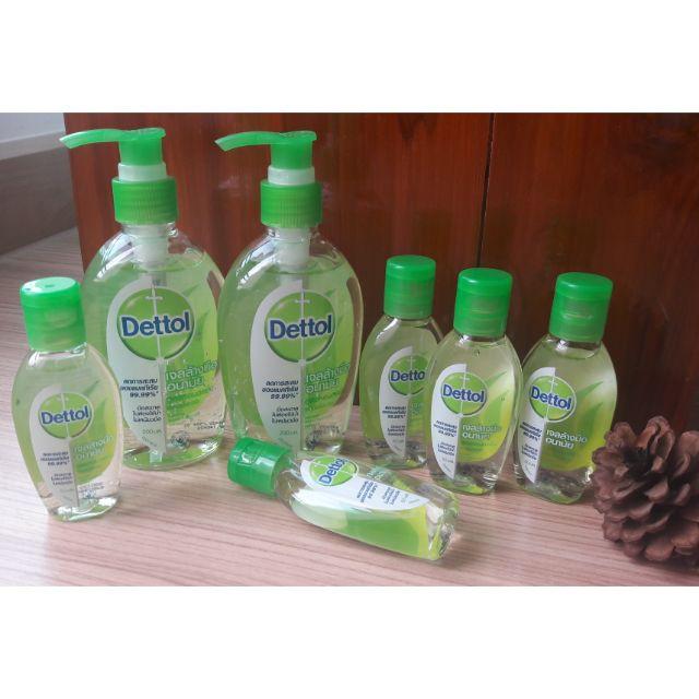 dettol ผลิตภัณฑ์ทําความสะอาด dettol มงกุฏ เดทตอลมงกุฏ Dettol เจลล้างมืออนามัย 50/200 ml.