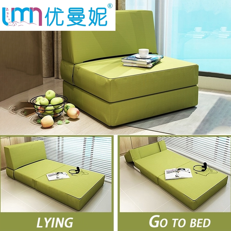 🔥Free Shipping🔥Sofa bed home single double sponge sofa simple bed nap bed reinforcement lazy folding bed