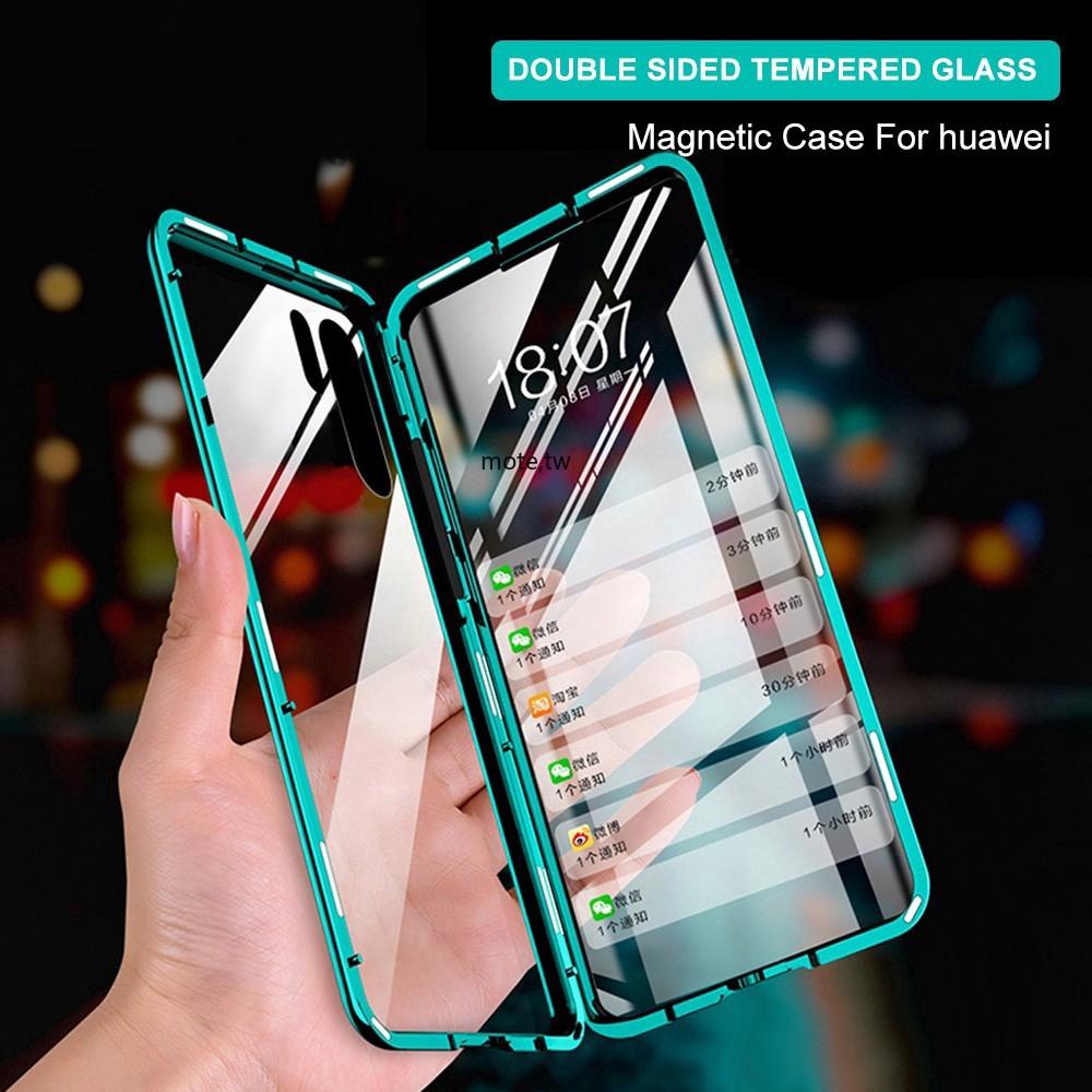 สต็อกพร้อมเคสโทรศัพท์มือถือแบบสองด้านสําหรับ Huawei P 20 Pro P 30 P 30 Pro P 40 Pro Mate 20 Pro Mate 30 Pro