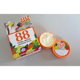 ◈88 Total White Underarm Cream ครีมปรับสภาพผิวรักแร้ขาว ครีมรักแร้ขาว
