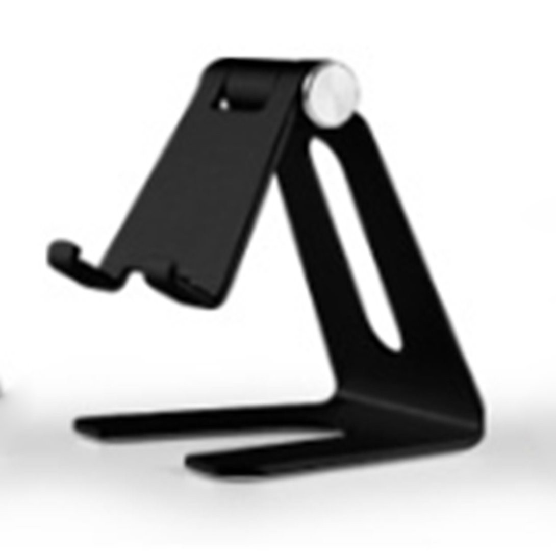 [๕] Aluminum alloy adjustable tablet phone holder Metal Sturdy Construction Rubbers Pads For Mobile &Tablet