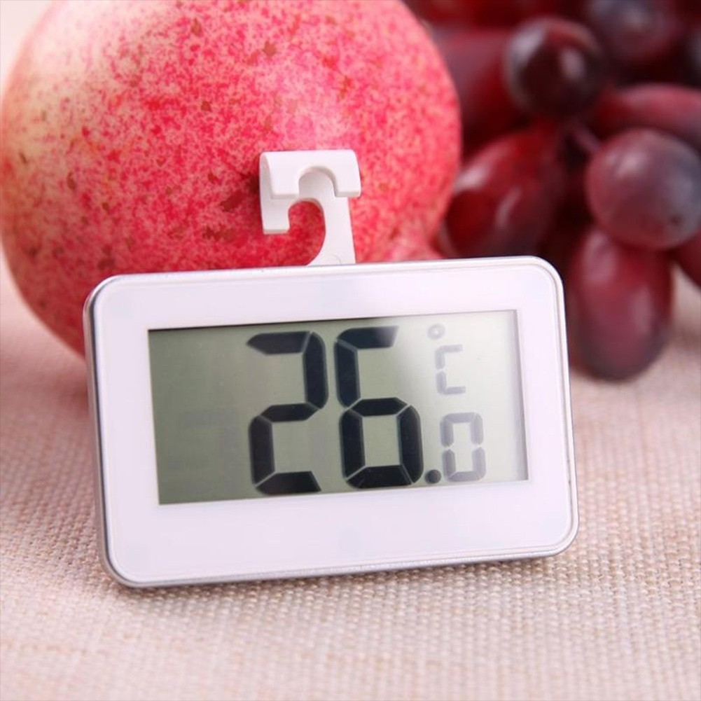 Digital Thermometer Waterproof Convenient Fridge Fridge Frost Alarm Waterproof Convenient Indoor