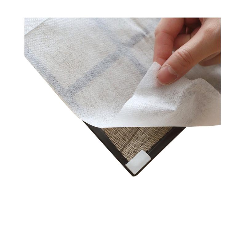 แผ่นกระดาษกรองอากาศ ป้องกันฝุ่น สำหรับเครื่องปรับอากาศ