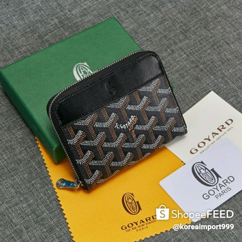 Goyard Belvedere Zippy Mini Wallet