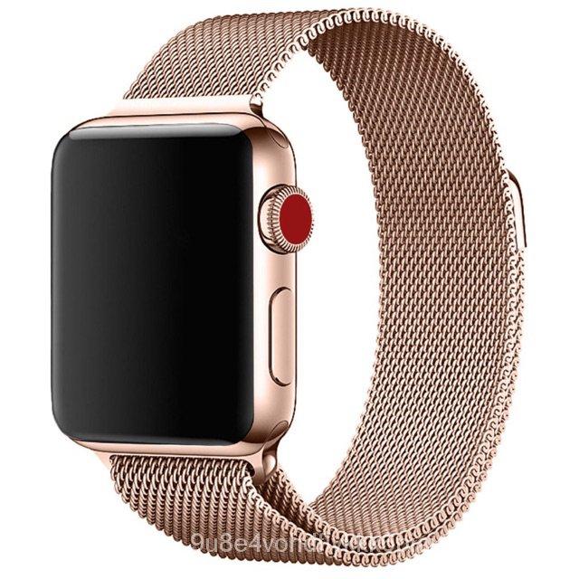 iluสายนาฬิกาข้อมือ AppleWatch 42 มม. 38 มม. 40 มม. 44 มม. series 6 5 4 3 2 1 สายsmart watch Fp5/p90proสาย AppleWatch caZ