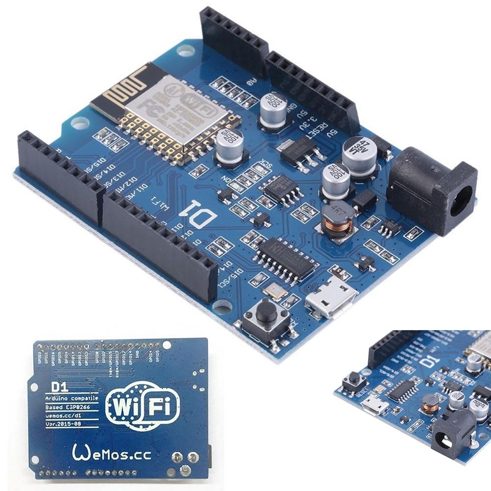 OTA WeMos D 1 Wifi Arduino UNO บอร์ด ESP 8266 ESP-12E