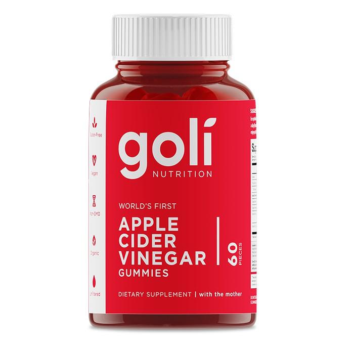 Goli Apple Cider Vinegar Gummies 60 เม็ด