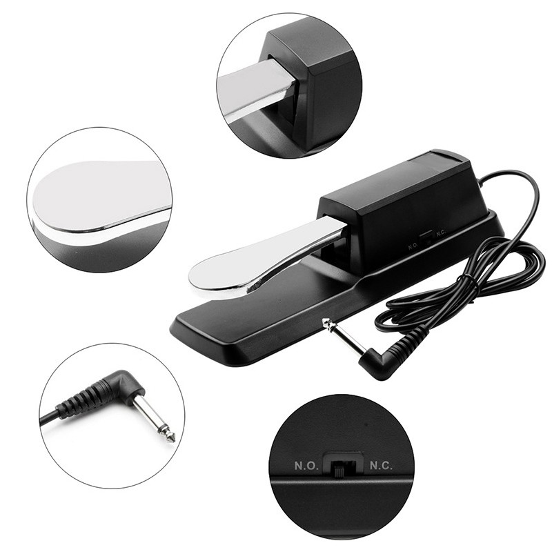 [sl shop]Piano Damper Sustain Pedal Sustain Ped Accessories for Yamaha  Piano Keyboard