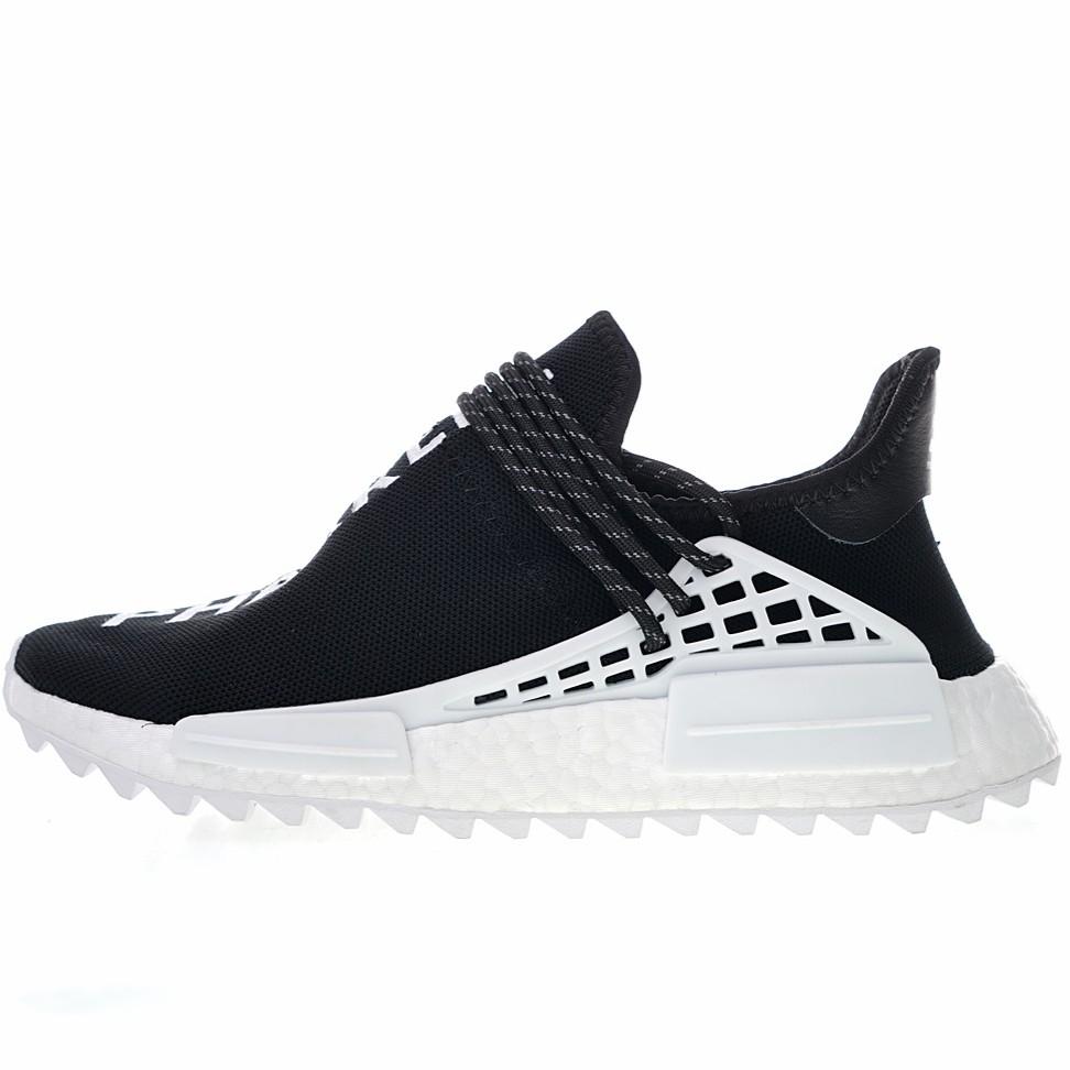 detailed look b957c 7b409 รองเท้าผ้าใบ chanel X Pharrell x Adidas NMD Human Race Trail Human  Avant-Garde