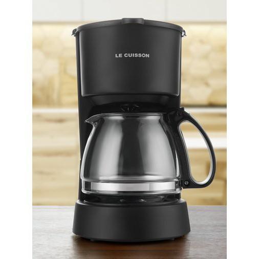 ☇เครื่องชงกาแฟ เครื่องทำกาแฟ ชงกาแฟได้ครั้งละ 5 แก้วต่อครั้ง LE CUSSION