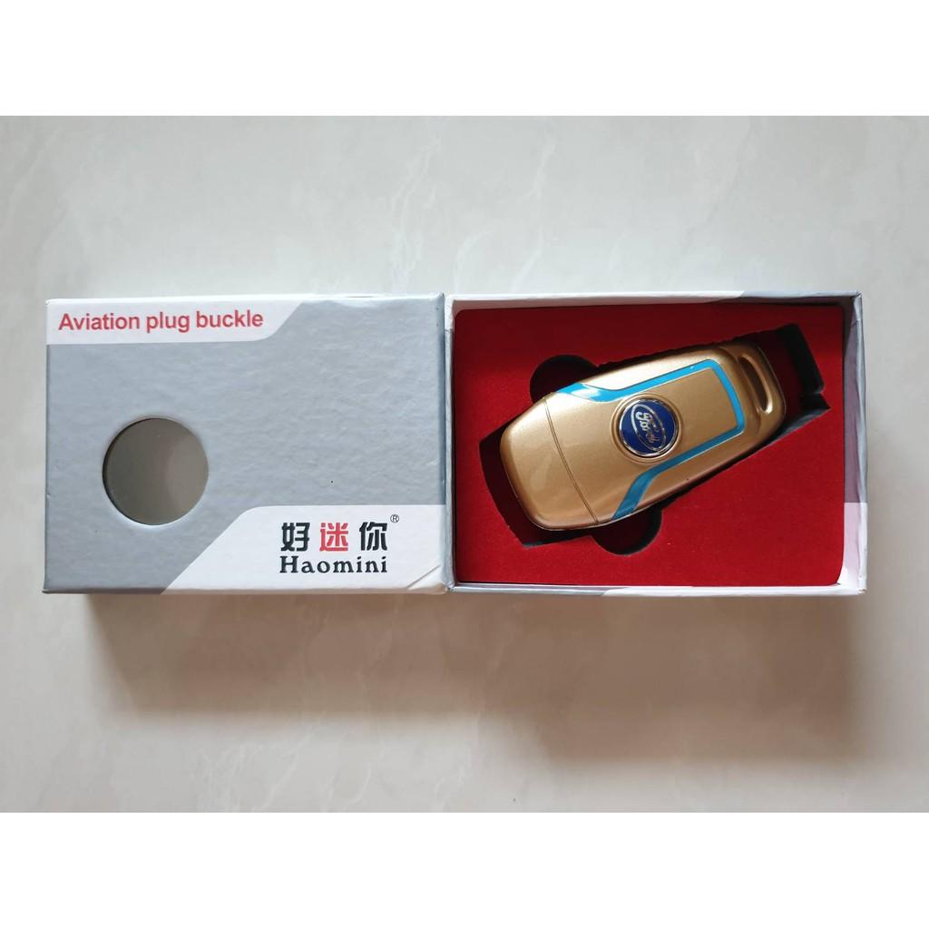 ปลอกกุญแจ (เคสกุญแจ) FORD เรนเจอร์,EVEREST สีทอง ผลิตจาก พลาสติก ABS เกรด A ราคาอันละ 195บาท