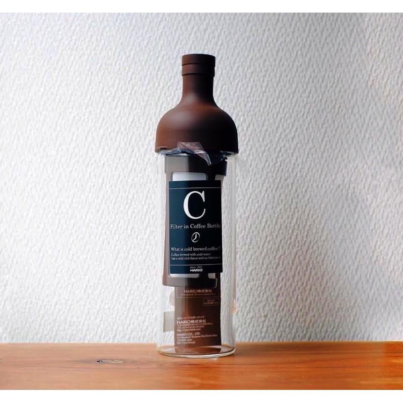Hario filter in Cold Brew Coffee Bottle ฮาริโอะ ขวดกาแฟ กาแฟสกัดเย็น เครื่องชงกาแฟ อุปกรณ์ชงกาแฟ ขวด กาแฟ เครื่องทำกาแฟ