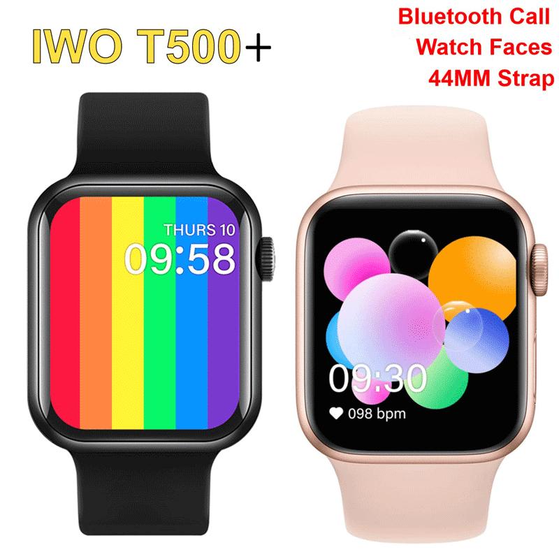 Iwo สมาร์ทวอทช์ T500 + 2021 T500 W56 Ip67 กันน้ํา 44 มม . Series 6 สําหรับ Applewatch Iwatch 5