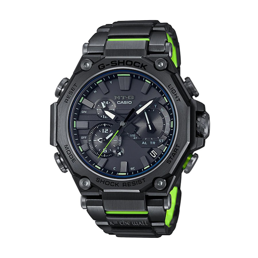 Casio G-Shock นาฬิกาข้อมือผู้ชาย สายสแตนเลส รุ่น MTG-B2000SKZ-1A - สีดำ